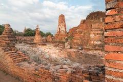 Wat Mahathat (Tempel des großen Relikts oder Tempel des großen Reliquienkästchens) ist der allgemeine kurze Name von einigen wich Lizenzfreies Stockfoto