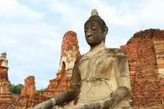 Wat Mahathat (Tempel des großen Relikts oder Tempel des großen Reliquienkästchens) ist der allgemeine kurze Name von einigen wich Lizenzfreie Stockfotografie
