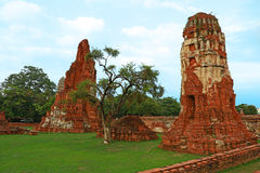 Wat Mahathat (tempio di grande reliquia o tempio di grande reliquario) è il breve nome comune dei parecchi templ buddista importa Immagini Stock Libere da Diritti