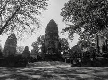 Wat Mahathat temple in Ayutthaya Royalty Free Stock Photography