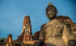 Wat Mahathat (temple des grandes reliques) Images libres de droits