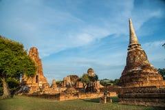 Wat Mahathat (temple des grandes reliques) Photo libre de droits