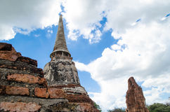 Wat Mahathat temple Royalty Free Stock Photos