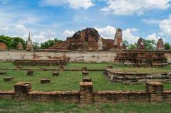 Wat Mahathat temple Royalty Free Stock Photo