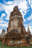 Wat Mahathat temple Royalty Free Stock Images