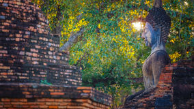 Wat Mahathat Temple in the precinct of Sukhothai Historical Park, Thailand Stock Photos