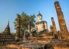 Wat Mahathat temple, Sukhothai Historical Park Royalty Free Stock Image