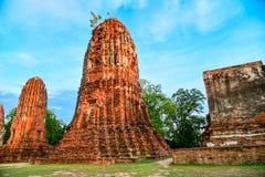 Wat Mahathat (templo das grandes relíquias) Fotos de Stock
