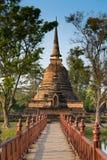 Wat Mahathat (templo de las grandes reliquias) Fotos de archivo libres de regalías