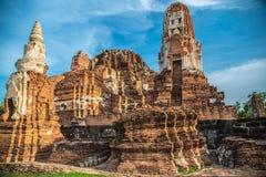 Wat Mahathat (templo de las grandes reliquias) Imagen de archivo