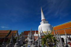 Wat Mahathat Woramahawihan Royalty-vrije Stock Afbeelding