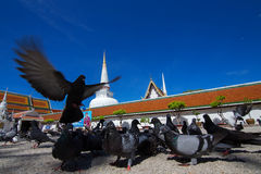Wat Mahathat Woramahawihan Stockbild