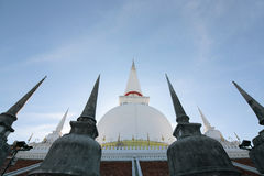Wat Mahathat Woramahawihan Zdjęcie Royalty Free