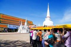 Wat Mahathat Woramahawihan Lizenzfreie Stockfotos