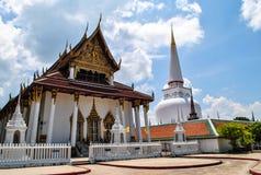 Wat Mahathat Woramahawihan, Si Nakhon thammarat Στοκ Εικόνες