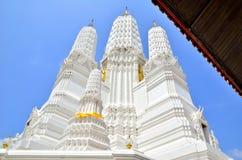 Wat Mahathat Woravihara Petchburi Foto de Stock Royalty Free