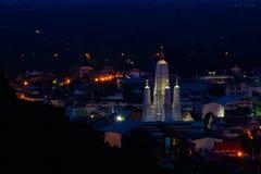 Wat Mahathat Worawihan at Phetchaburi Province, Thailand. Stock Image