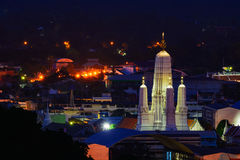 Wat Mahathat Worawihan at Phetchaburi Province, Thailand. Royalty Free Stock Photo