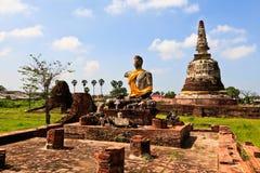 Wat mahayyong Royalty Free Stock Photos