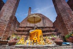 Wat Maheyong, Ayuthaya Province, Thailand.  Stock Photos