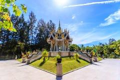 Wat Mai Khao temple. Phuket Thailand Stock Photo