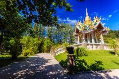 Wat Mai Khao temple. Phuket Thailand Royalty Free Stock Image