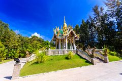 Wat Mai Khao temple. Phuket Thailand Royalty Free Stock Photo