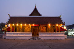 Wat Mai in the morning Stock Photos