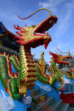 Wat Mai Suvankhiri (Dragon Boat temple), Malaysia Stock Photos