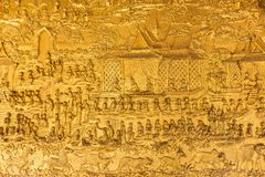 Wat Mai Suwannaphumaham Lizenzfreies Stockbild