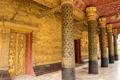 Wat mail in Luang Prabang Stock Images