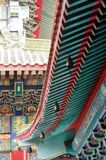 Wat Mangkon Kamalawat conocido como Wat Leng Noei Yi es el templo budista chino más grande y más importante de Bangkok, Tailandia Foto de archivo