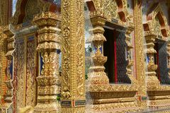 Wat Mani Phraison, μέθυσος της Mae, επαρχία Tak, Ταϊλάνδη στοκ εικόνα