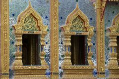 Wat Mani Phraison, Mae Sot, Tak-Provinz, Thailand Stockbilder