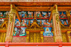 Wat Manorom, Luang Prabang, Laos Royalty Free Stock Images