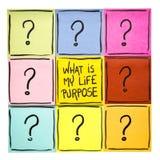 Wat is mijn het levensdoel? Royalty-vrije Stock Foto's
