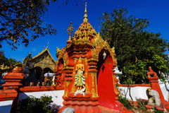 Wat Ming Muang gate entrance, Chiang Rai Stock Photography