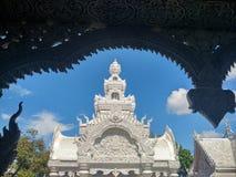 Wat Mingmuang in Nan, Thailand Lizenzfreie Stockfotografie