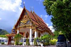 Wat Mongkhol Nimit στην πόλη Phuket, Ταϊλάνδη Στοκ φωτογραφία με δικαίωμα ελεύθερης χρήσης