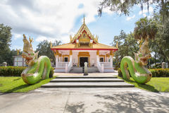 Wat Mongkolrata Buddhist Thai Temple Photographie stock