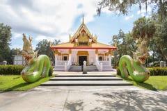Wat Mongkolrata Buddhist Thai Temple. In Tampa, Florida Stock Photography