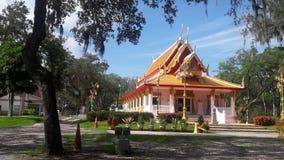 Wat Mongkolratanaram, Τάμπα, Φλώριδα Στοκ Εικόνες