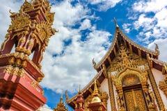 Wat Monthian Чиангмай Стоковое фото RF