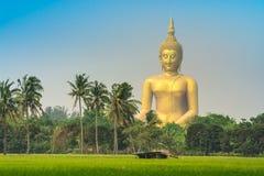 Wat-muang ANG-Zapfenthailand-Tempel Stockfotos