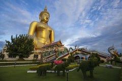 Wat Muang, Angthong, Ταϊλάνδη Στοκ Φωτογραφίες