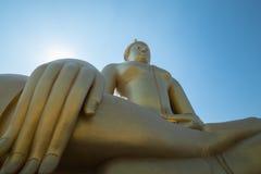 Wat Muang - buddistisk tempel Royaltyfri Bild