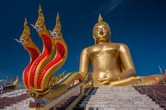 Wat Muang en Ang Thong Fotografía de archivo