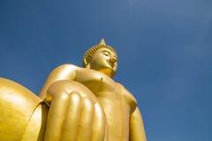 Large golden Buddha Stock Image