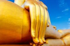 Wat Muang Temple Angthong Fotografering för Bildbyråer
