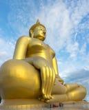 Wat-Muang thailändsk tempel Royaltyfri Fotografi